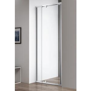 Душевая дверь Cezares Variante B-1 80 прозрачная, хром (Variante-B-1-70/80-C-Cr)