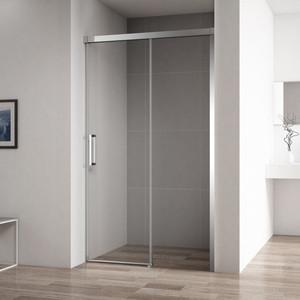 Душевая дверь Cezares Duet-Soft BF-1 110 прозрачная, хром (Duet Soft-BF-1-110-C-Cr)