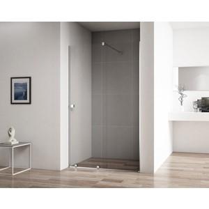 Душевая дверь Cezares Stream BF-1 110 прозрачная, хром (Stream-BF-1-110-C-Cr)