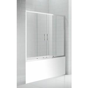 цена Шторка на ванну Cezares Eco O-VF-2-170 прозрачная, хром (ECO-O-VF-2-170/145-C-Cr) онлайн в 2017 году