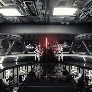 Фотообои Komar Disney Звездные войны: Разрушитель 368х254 см бумажные (8-445)