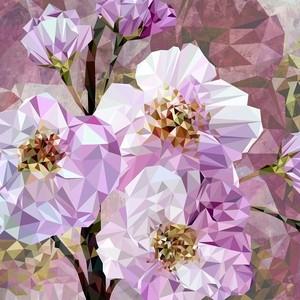 Фотообои Komar Драгоценные цветы 368х248 см флизелиновые (XXL4-064)