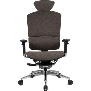 Кресло эргономичное GTChair SE-13D LP-02 I-See brown (chromed frame)
