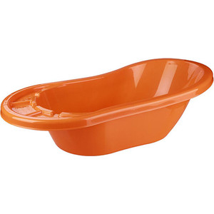 цена Ванночка Альтернатива Карапуз оранжевый УТ000003284 онлайн в 2017 году