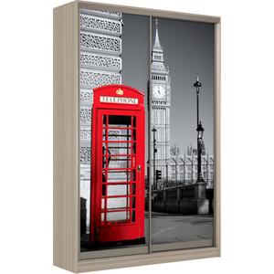 Шкаф-Купе Престиж-Купе Рико 2д фотопечать Лондон 0015-320 фото