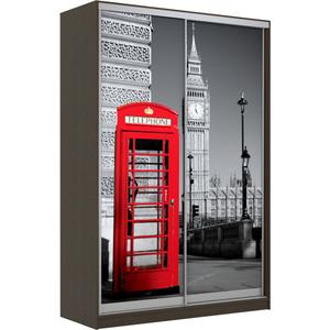 Шкаф-Купе Престиж-Купе Рико 2д фотопечать Лондон 0015-325 фото