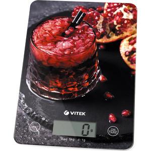 лучшая цена Весы кухонные Vitek VT-8032(BK)