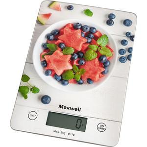 Весы кухонные Maxwell MW-1478(MC) весы кухонные maxwell mw 1476 w белый рисунок