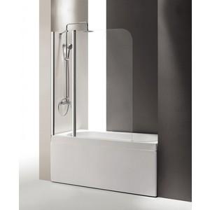 Шторка на ванну Cezares Eco O-V-11-120 Punto, хром, левая (ECO-O-V-11-120/140-P-Cr-L)