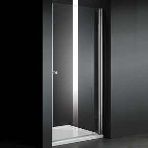 Душевая дверь Cezares Elena W-B-1 60 прозрачная, хром (Elena-W-60-C-Cr, VE-W-WLM-Cr)