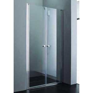 Душевая дверь Cezares Elena W-B-2 100 прозрачная, хром (Elena-W-B-2-100-C-Cr) стоимость