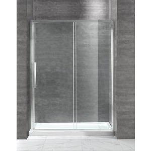 Душевая дверь Cezares Lux-Soft W-BF-1 140 прозрачная, хром (Lux-Soft-W-BF-1-140-C-Cr-IV)
