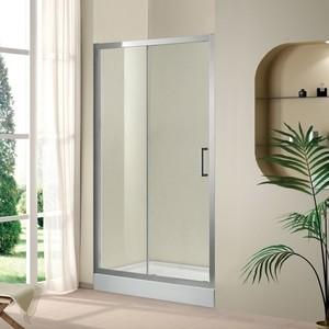 Душевая дверь Cezares Porta D-BF-1 120 прозрачная, хром (Porta-D-BF-1-120-C-Cr)