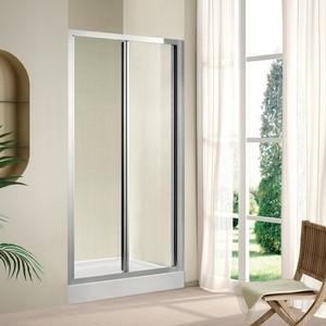 Душевая дверь Cezares Porta D-BS 90 прозрачная, хром (Porta-D-BS-90-C-Cr)