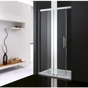 Душевая дверь Cezares Premier-Soft W-BF-1 130 прозрачная, хром (Premier-Soft-W-BF-1-130-C-Cr-IV)
