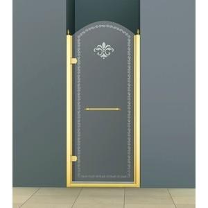 Душевая дверь Cezares Retro A-B-1 90 Punto, золото, левая (Retro-A-B-1-90-CP-G-L)