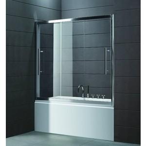 Шторка на ванну Cezares Trio D-V-22-150 прозрачная, хром (TRIO-D-V-22-150/145-C-Cr) душевая шторка на ванну cezares 150см uno vf 2 150 145 c cr