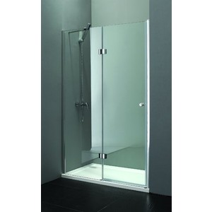 Душевая дверь Cezares Verona W-B-12 100 прозрачная, хром (VE-W-WLM-Cr, Verona-W-60/40-C-Cr)