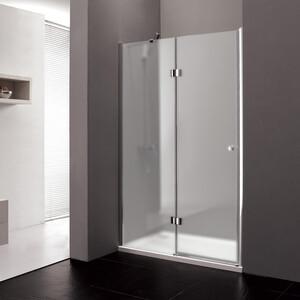 Душевая дверь Cezares Verona W-B-12 100 Punto, хром, левая (VE-W-WLM-Cr, Verona-W-60/40-P-Cr-L)