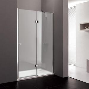 Душевая дверь Cezares Verona W-B-12 120 Punto, хром, правая (VE-W-WLM-Cr, Verona-W-60/60-P-Cr-R)