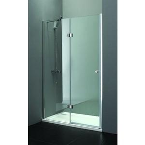 Душевая дверь Cezares Verona W-B-12 90 Punto, хром, левая (VE-W-WLM-Cr, Verona-W-60/30-P-Cr-L) душевая дверь распашная cezares verona 150 см текстурное стекло verona w b 13 60 60 30 p cr l