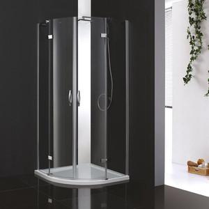 Душевой уголок Cezares Bergamo W R-2 100х100 прозрачный, хром (Bergamo-W-R-2-90-ARCO-C-Cr-IV) стоимость