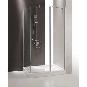 Душевой уголок Cezares TRIUMPH-D-AH-1-100/80-C-Cr-R правый, профиль хром, стекло прозрачное душевой уголок royal bath 120 80 200 стекло прозрачное правый rb8120bp t r