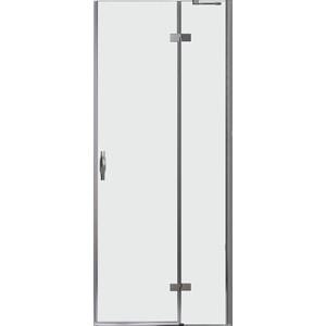 Дверное полотно Cezares BERGAMO-W-60/40-C-Cr-R правая профиль хром, стекло прозрачное ручка hp 42 0101 cr r правая хром