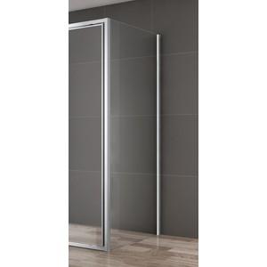 Универсальная боковая панель Cezares VARIANTE-80-FIX-C-Cr стекло прозрачное