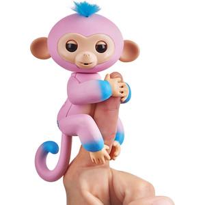 FINGERLINGS Интерактивная обезьянка КАНДИ (розовая и голубая), 12 см (3722) фото