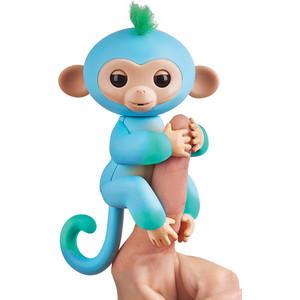 FINGERLINGS Интерактивная обезьянка ЧАРЛИ (голубая с зеленым), 12 см (3723)