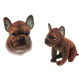 Мягкая игрушка Hansa Щенок французского бульдога, 20 см (6593) цена