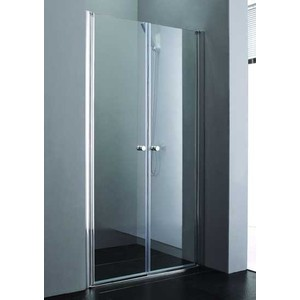 Душевая дверь Cezares Elena W-B-2 155 Punto, хром (Elena-W-80-P-Cr-L, Elena-W-80-P-Cr-R, VE-W-PMS)