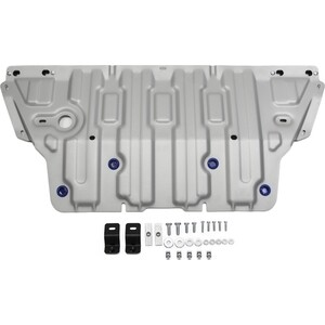 Защита картера Rival для Audi A4 АКПП (2015-н.в.), A5 4WD (2016-н.в.), алюминий 4 мм, 333.0334.1