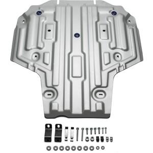 Защита КПП Rival для Audi A4 АКПП (2015-н.в.), A5 4WD АКПП (2016-н.в.), алюминий 4 мм, 333.0335.1 автомобильный коврик novline nlt 04 12 22 110kh для audi a4 акпп 2007 2015