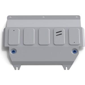 Защита картера и КПП Rival для Ford Fiesta (2008-2015 / 2015-н.в.), алюминий 4 мм, 333.1805.1