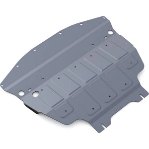 Защита картера Rival для Infiniti M37 (2010-2014), Q70 4WD (2014-н.в.), алюминий 4 мм, 333.2412.1