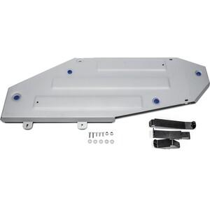 Защита топливного бака Rival для Lexus LX (2015-н.в.) / Toyota Land Cruiser 200 (2015-н.в.), алюминий 4 мм, 333.9515.1