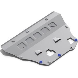 Защита картера и КПП Rival для Volvo S90 (2016-н.в.), V90 Cross Country (2017-н.в.), XC60 (2017-н.в.), XC90 (2015-н.в.), алюминий 4 мм, 333.5912.1 защита ford mondeo 4 2007 кроме 2 5 volvo s80 2006 xc60 2008 картера и кпп standart plus