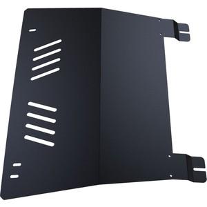 Защита картера и КПП АвтоБРОНЯ для Audi 80 (1986-1994), сталь 2 мм, 111.00325.1 защита картера для audi a 4 2015 b9 сталь 2 0 мм