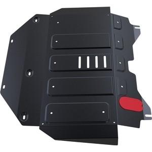 Защита картера и КПП АвтоБРОНЯ для Chery Bonus 3 (2014-н.в.), сталь 2 мм, 111.00913.1