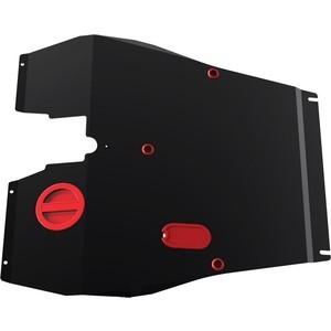 Защита картера и КПП АвтоБРОНЯ для Chery Tiggo (2005-2013), сталь 2 мм, 111.00904.2