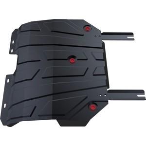 Защита картера и КПП АвтоБРОНЯ для Chery Tiggo 5 FWD (2014-2016 / 2016-н.в.), сталь 2 мм, 111.00912.1