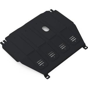 Защита картера и КПП АвтоБРОНЯ для Chevrolet Aveo МКПП (2012-2015), сталь 2 мм, 1.01015.1 радитор отопителя паяный kraft для chevrolet aveo