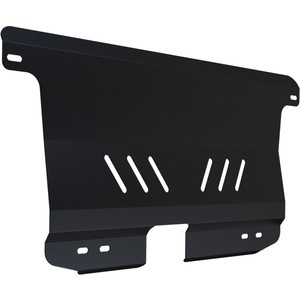 Защита картера и КПП АвтоБРОНЯ для Chevrolet Spark (2005-2010), сталь 2 мм, 111.01008.1