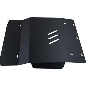 Защита картера АвтоБРОНЯ для Chevrolet Tracker МКПП (1998-2004) / Suzuki Grand Vitara (1997-2004), сталь 2 мм, 111.01013.1