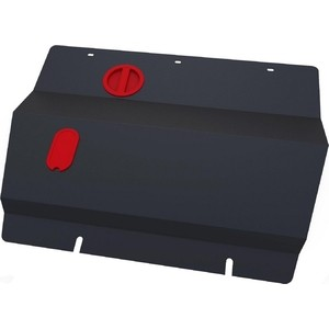 Защита картера и КПП АвтоБРОНЯ для Citroen С8 (2002-2005), сталь 2 мм, 111.01207.1