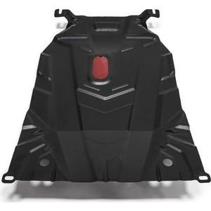 Защита картера и КПП АвтоБРОНЯ для Daewoo Nexia (2008-2016), сталь 2 мм, 111.01310.1 фаркоп daewoo nexia 3 5 дв 95 97 9
