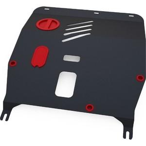 Защита картера и КПП АвтоБРОНЯ для Fiat 500 (2009-н.в.), сталь 2 мм, 1.01706.1