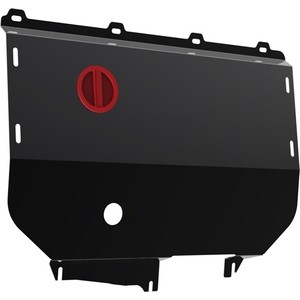 Защита картера и КПП АвтоБРОНЯ для Fiat Ducato (2002-2011), сталь 2 мм, 111.01708.1